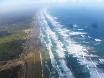 Reisebericht Neuseeland - 90 Mile Beach Luftaufnahme