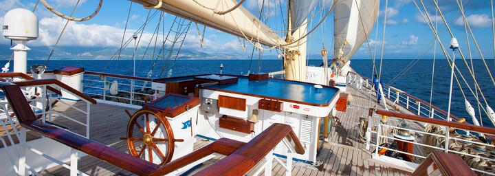 Deck der Star Clipper