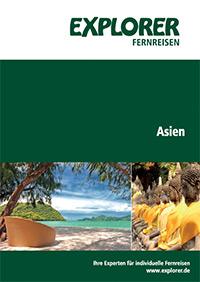 Explorer Fernreisen Asien Katalog Cover