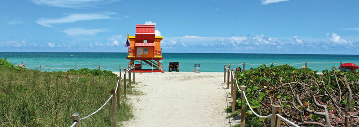 Miami Beach Strandhaus