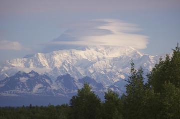 Alaska Reisebericht: Blick auf den Mount Denali