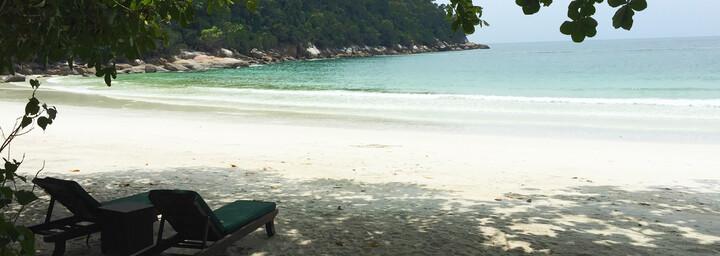 Reisebericht Malaysia - Strand auf Pangkor Laut