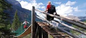 Kinney Lake Trail im Mt. Robson Park