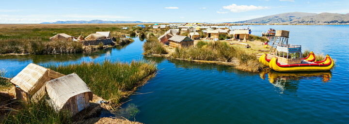 Titicacasee in Puno