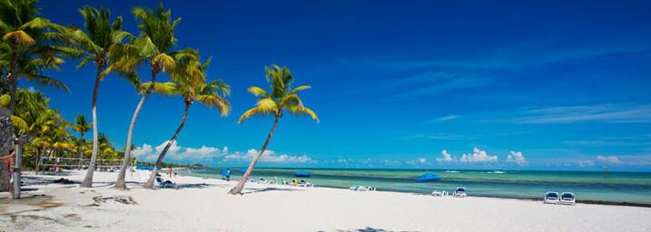 Strand der Florida Keys