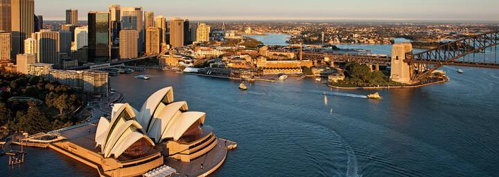 Sydney in der Dämmerung