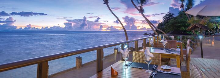 Restaurant des Hotel Coco de Mer & Black Parrot Suites