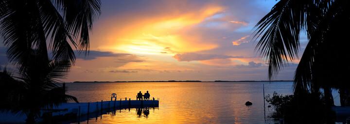 Sonnenuntergang in Florida Keys