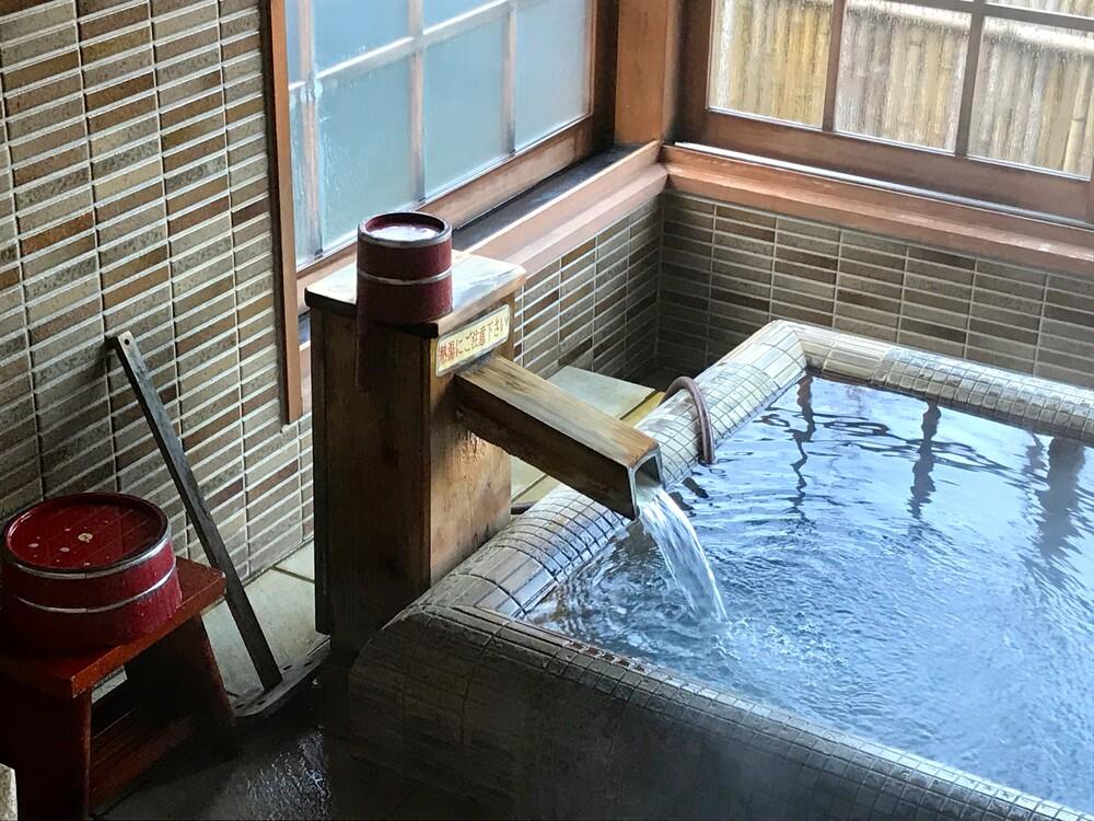 Beispiel Onsen in Japan