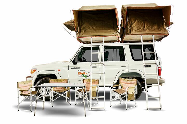 Britz 4WD Double Cab Landcruiser