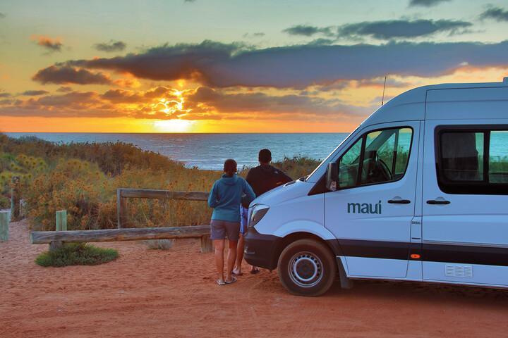 Außenansicht des Maui Ultima Plus Camper