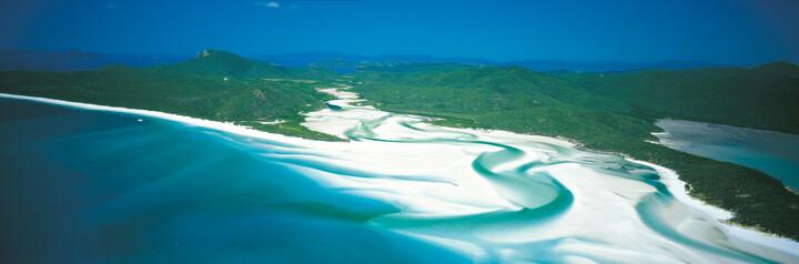Whitsunday Islands aus der Luft