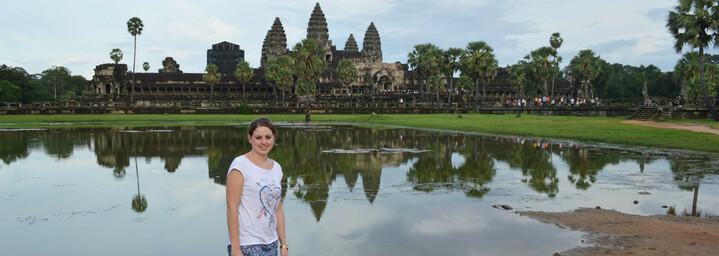Reisebericht Kambodscha: Angkor Wat mit unserer Reiseexpertin Svenja