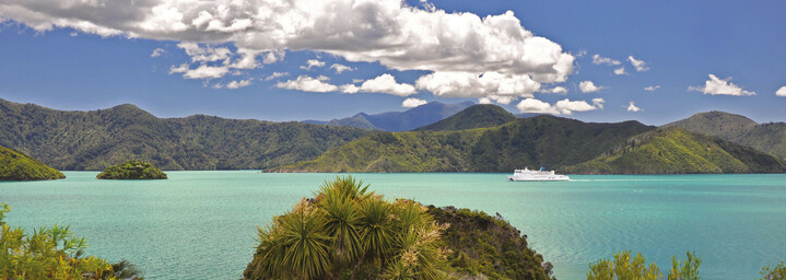 Marlborough Sounds Landschaft