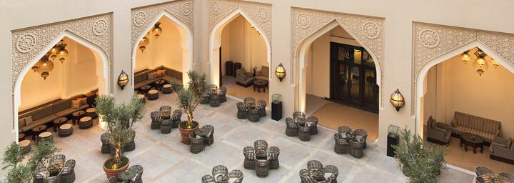 Manzil Downtown Dubai Courtyard