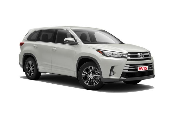Avis Toyota Kluger