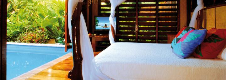 Aitutaki Lagoon Private Island Resort Zimmerbeispiel