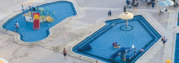 Pool Dead Sea Spa Hotel Sweimeh