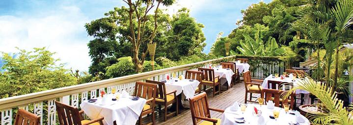 Terrasse der Centara Villas Phuket