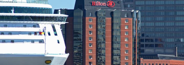New Brunswick Hilton Saint John Außenansicht