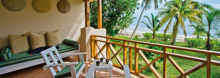 Terrasse in der Indian Ocean Lodge
