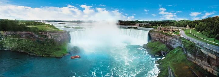 Niagarafälle im Panorama