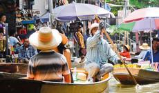 Bangkok mit dem Boot
