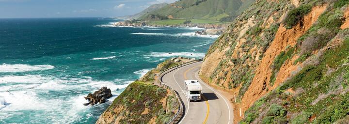 Road Bear Camper USA an der Küste