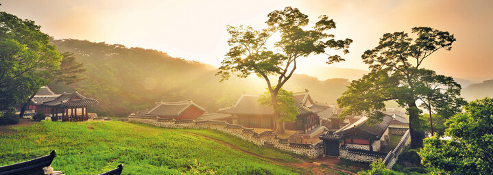 Namhansanseong Festung nahe Seoul