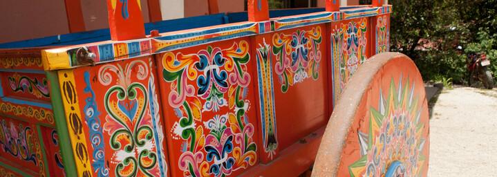 Trapiche Coffee Plantation Cart Costa Rica
