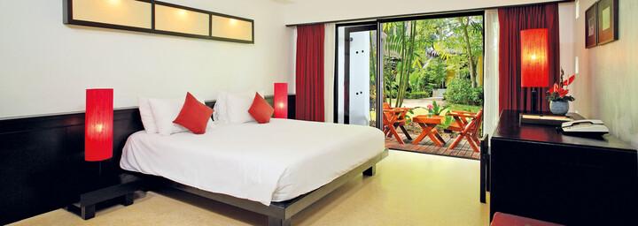 Coconut-Zimmerbeispiel des Haadson Resort Khao Lak