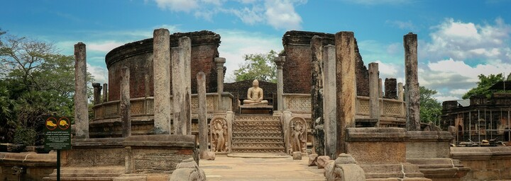 Vatadage Tempel in Polonnaruwa