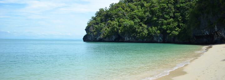 Strand auf der Insel Langkawi