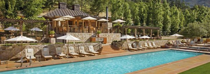 Pool der Calistoga Ranch