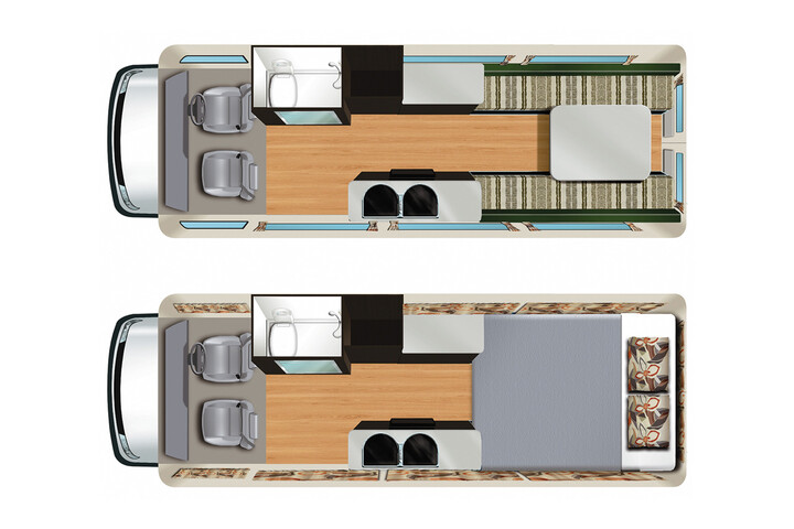 Floorplan des Aquila RV
