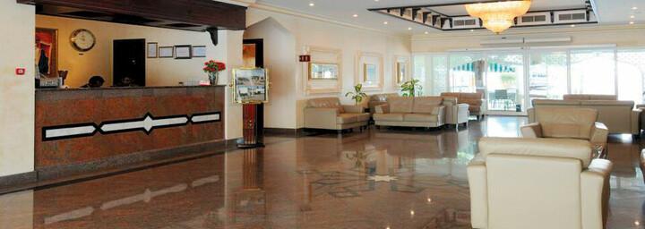 Lobby des Falaj Daris Hotel Nizwa