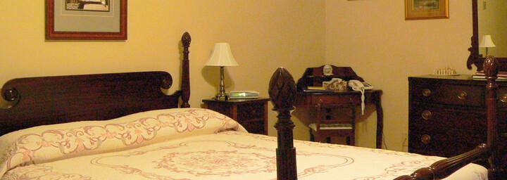 Beispielzimmer des Innisfree am Hopewell Cape