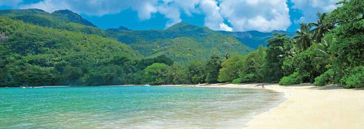 Sandstrand des Constance Ephélia Seychelles
