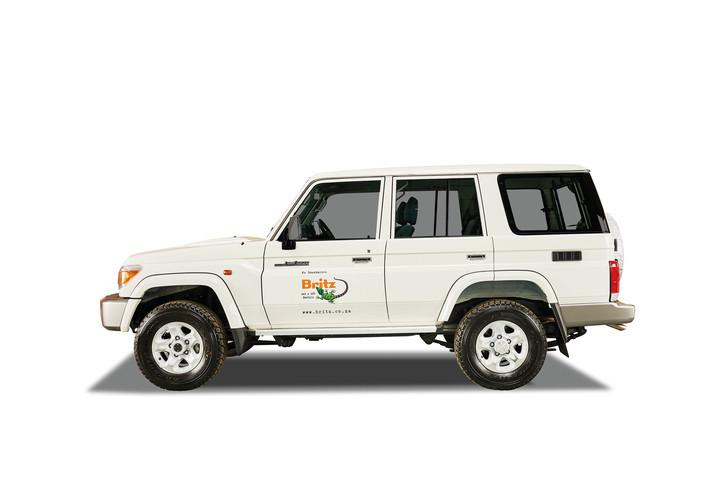Britz Toyota Landcruiser 4x4 BLC