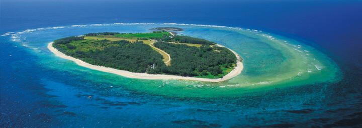 Luftaufnahme Lady Elliot Island Eco Resort