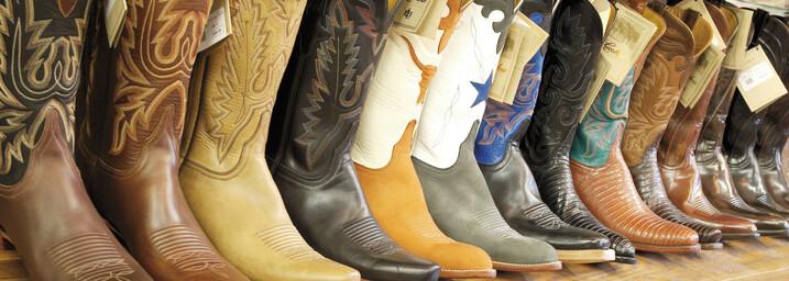 Cowboystiefel in Austin