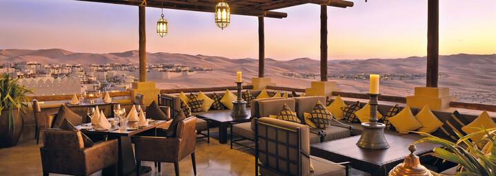 Suhail Restaurant Qasr Al Sarab Desert Resort by Anantara Liwa-Wüste