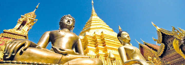 Tempelanlage Wat Phra That Doi Suthep, Chiang Mai