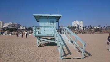 Reisebericht Kalifornien: Santa Monica Beach