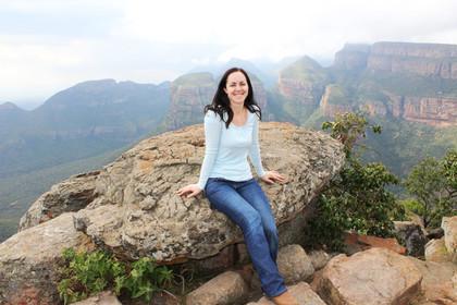 Reiseexpertin Waltraud in Südafrika