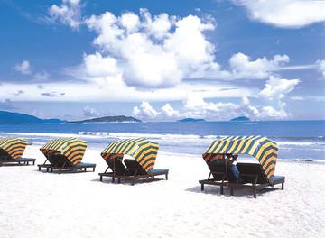 Insel Hainan Sanya Strand, China