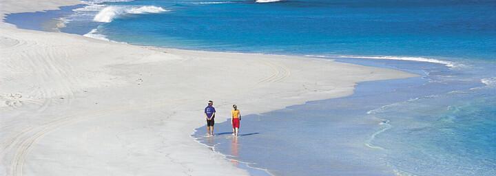 Strand an der Coral Bay