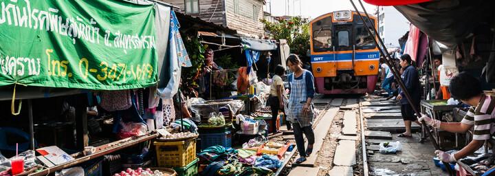 Mae Klong Railway Markt