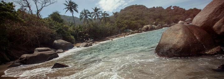 Tayrona Nationalpark Strand Kolumbien