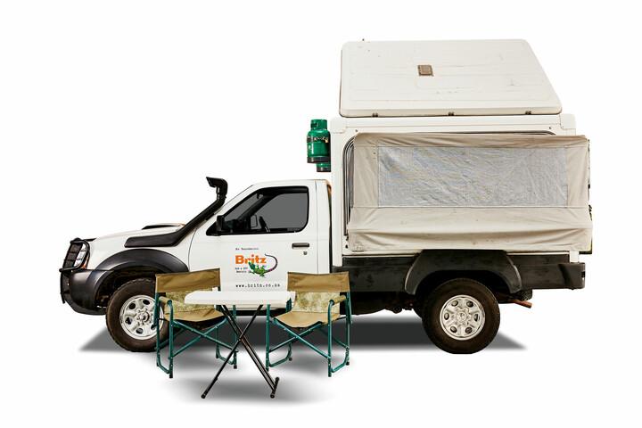 Britz 4WD Single Cab Trax